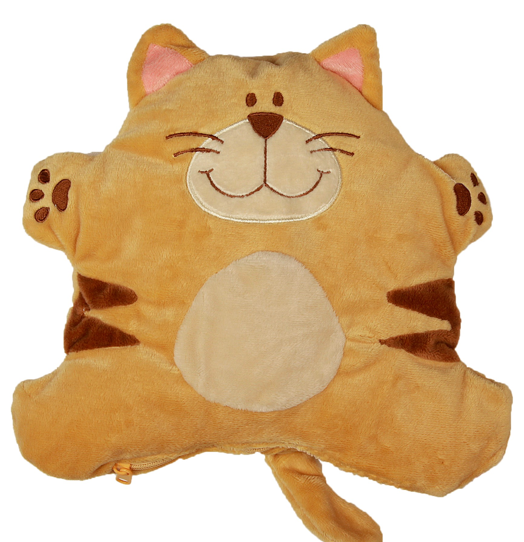 Katze flach